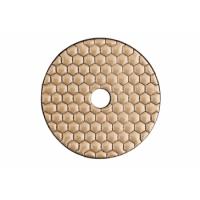 Алмазный шлифовальный круг на липучках, для сухого шлифования